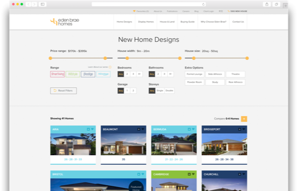 Home Filter Featured Homes