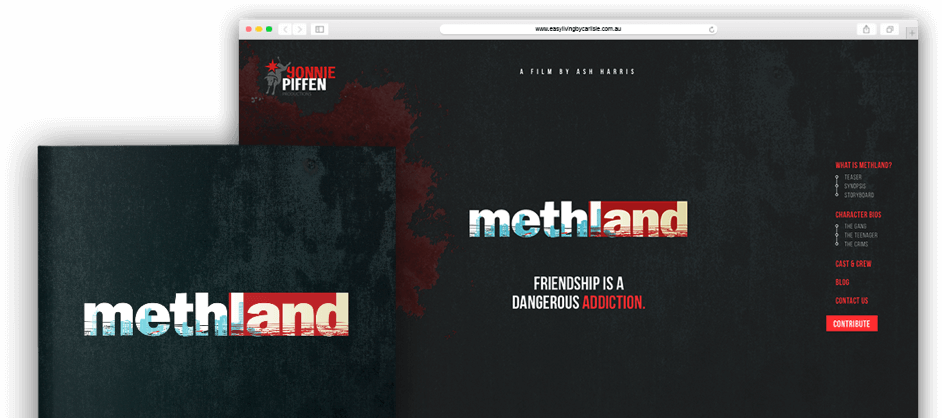 Methland Booklet Banner